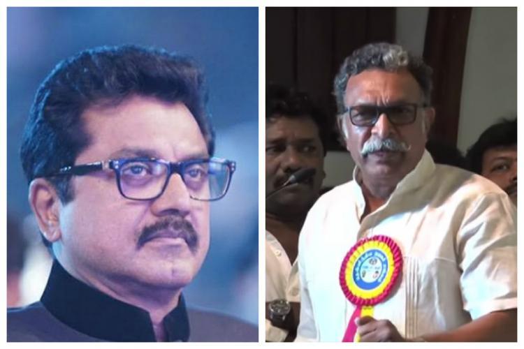 Nadigar Sangam blows up again Nasser says police complaint against Sarath is standard practice