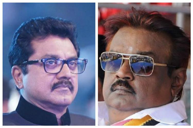 Mixed bag for TN film stars as Vijayakant Sarathkumar lose Chandrasekar Karunas win