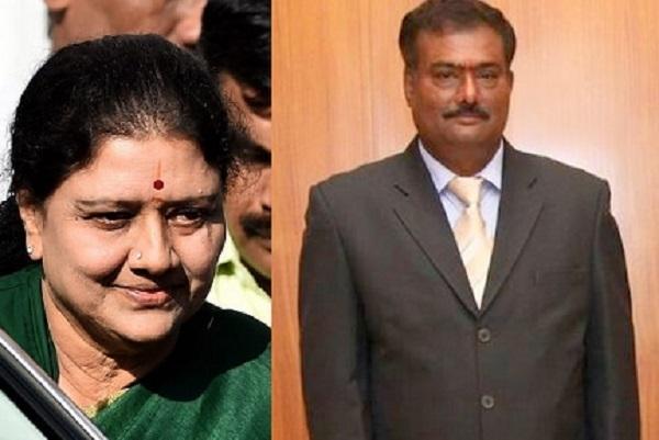 Sathiyamurthy back as IG intelligence Sasikala family trying to gain more control of govt