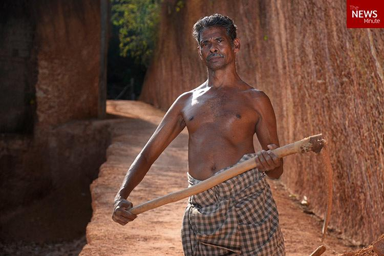 Meet Sasi a disabled man who carved a road through a hill in Kerala so he could go to work