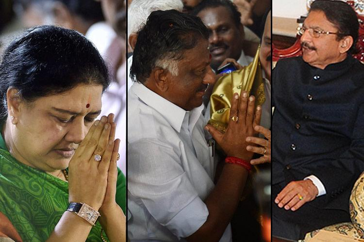OPS vs Sasikala What will TN Governor decide These are his four options