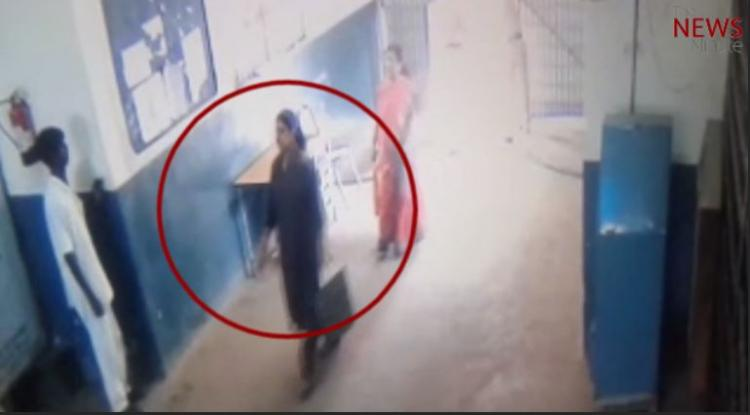 Did Sasikala move out of jail? CCTV footage raises question