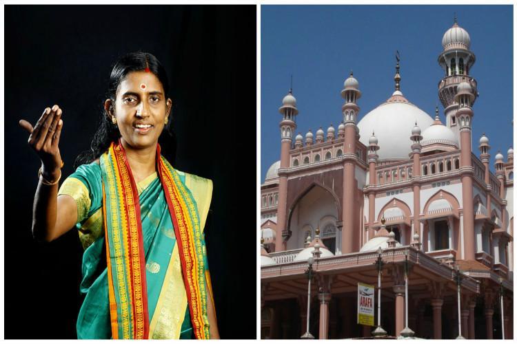 Firebrand Hindu leader Sasikala teacher attacks Ayyappa Vavar legend says Vavar wasnt Muslim