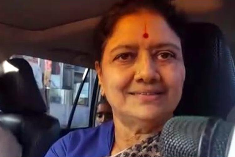 Exclusive Sasikala says unruly elements not AIADMK attacked media
