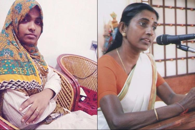 Sasikala Teacher meets Hadiyas parents wants to study why young Hindu women convert to Islam