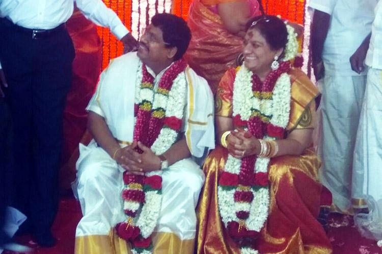 Rajya Sabha MP Sasikala Pushpa marries Ramasawamy despite court stay on wedding