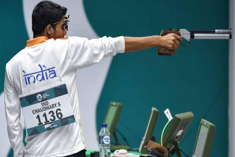 Days after Asiad gold Saurabh Chaudhary tops junior 10m air rifle at Shooting Worlds