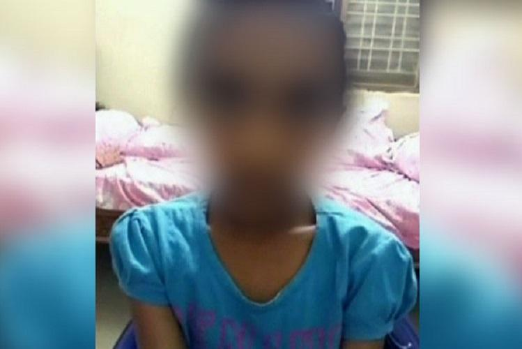 Girl punished, made to stand in boys' loo
