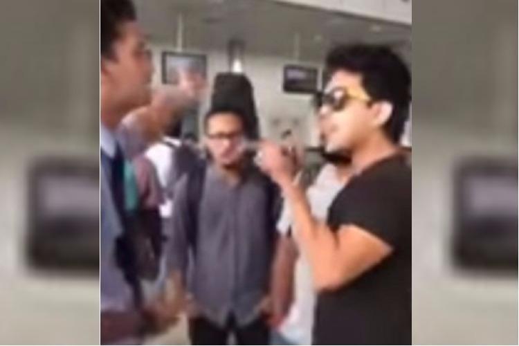 Singer Udit Narayans son Aditya caught on video abusing IndiGo staff