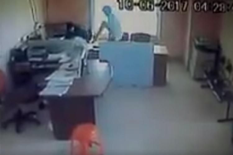 Ktaka municipal worker arrested for assaulting colleague video shows him kicking the woman