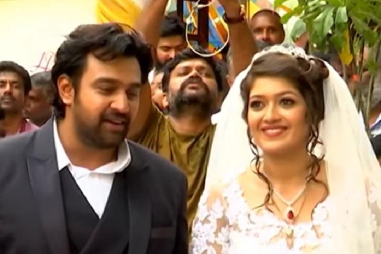 In Pics Kannada Actors Meghana Raj And Chiranjeevi Sarja Get Married In Bengaluru The News Minute