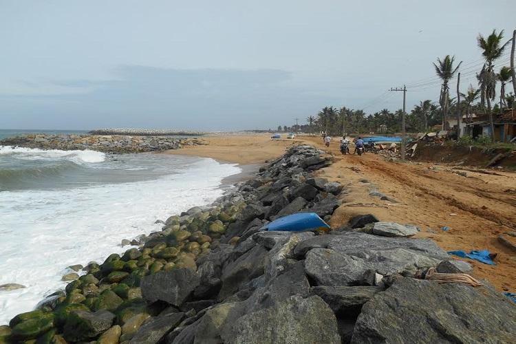 Sea erosion haunts Kanyakumaris fishing hamlets no public transport for 3 months