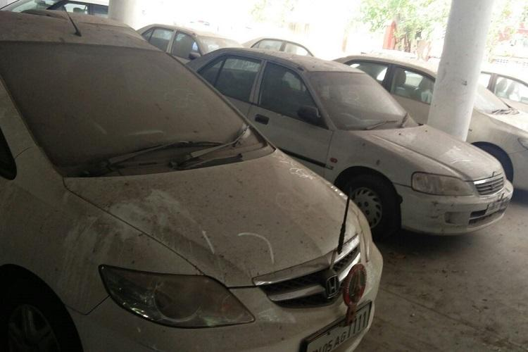 No respect for govt property my lord Sedans given to judges rusting away at Madras HC campus