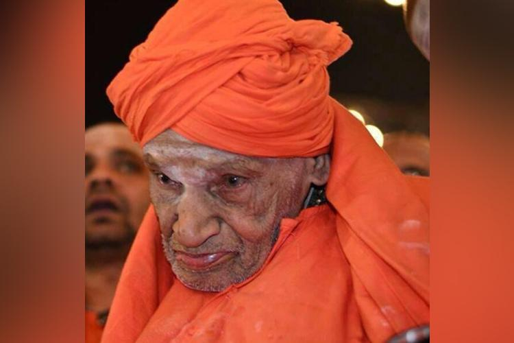111-year-old Lingayat seer Shivakumara Swamy of Siddaganga Mutt passes away