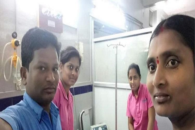 Disrespectful hospital staff take selfie with actor Harikrishnas body