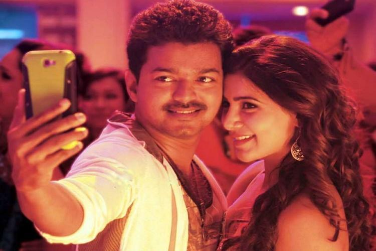 In Romania not Theri but Vijays selfie pulla is going viral for a hilarious reason