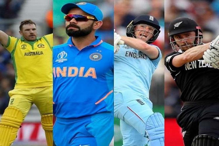 India vs New Zealand and England vs Australia in World Cup semis