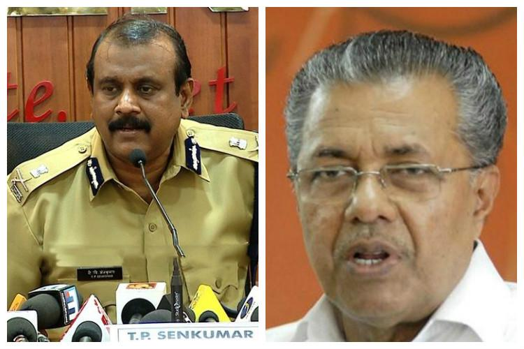 2 days after Pinarayi said Senkumar cant be reinstated in a hurry govt kicks off process