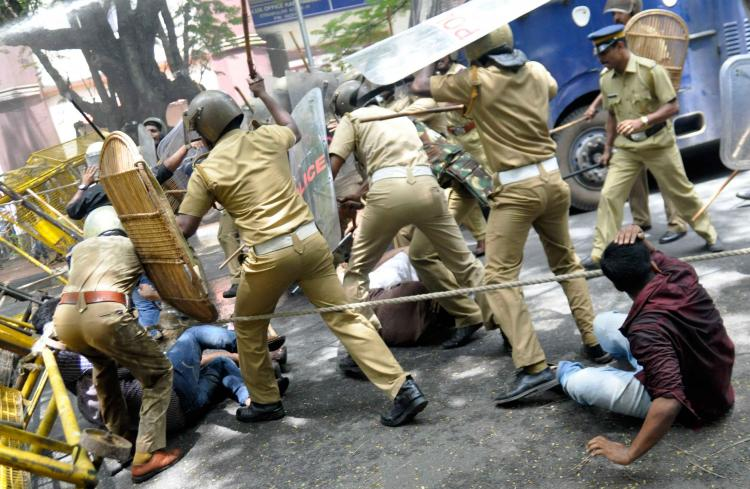 Should police and govt have a free run in campuses SFI KSU ABVP and MSF have different takes