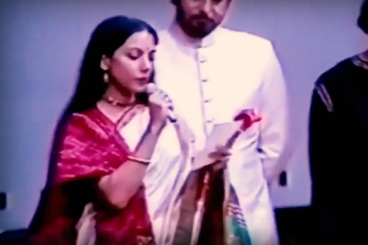 When Bollywood had a spine Shabana Azmis 1989 video on Safdar Hashmis murder is viral