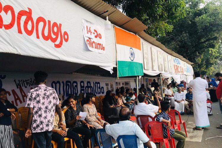 Kerala cops ask protestors supporting Shaheen Bagh Walayar kids to remove tents