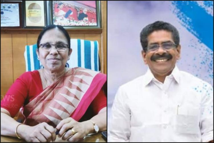 Congress Kerala president mocks KK Shailaja as Covid Queen Nipah princess