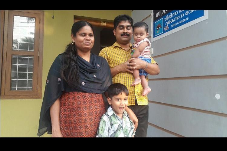 Shaji Laila and their 10 children A visually impaired Kerala couple empowering others like them