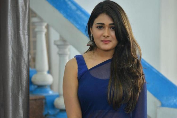 Shalini Pandey in black saree