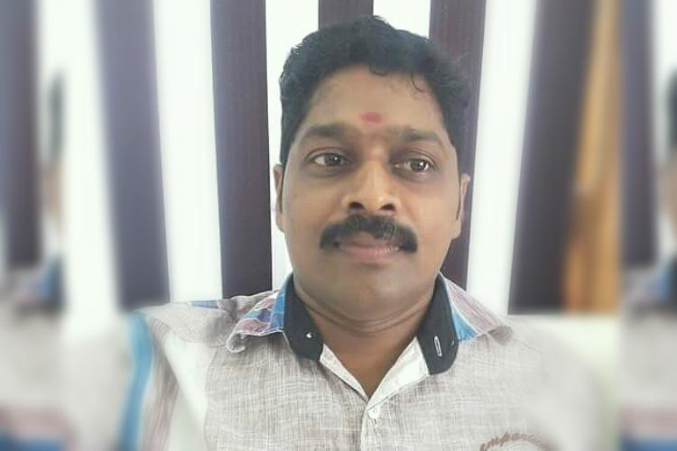 cpi m man hacked to death in mahe rss member killed in