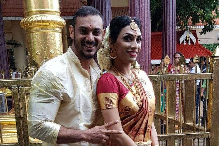 From a Facebook friendship to marriage Kerala couple Miga and Shamsis love story