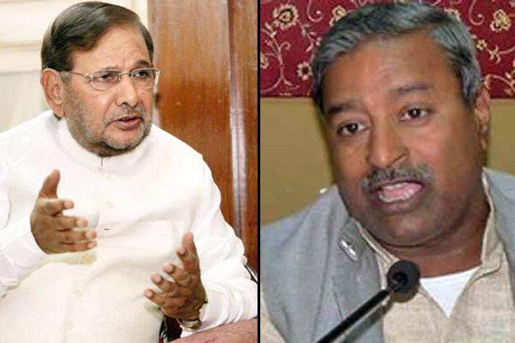 Hey Sharad Yadav Vinay Katiyar - forget our honour looks your dignity lies in staying silent