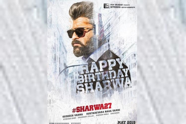 Sharwanands first look poster in upcoming flick goes viral