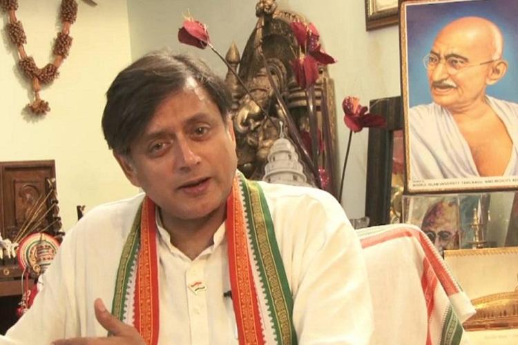 Chanting Bharat Mata Ki Jai has become new criterion for nationalism says Tharoor
