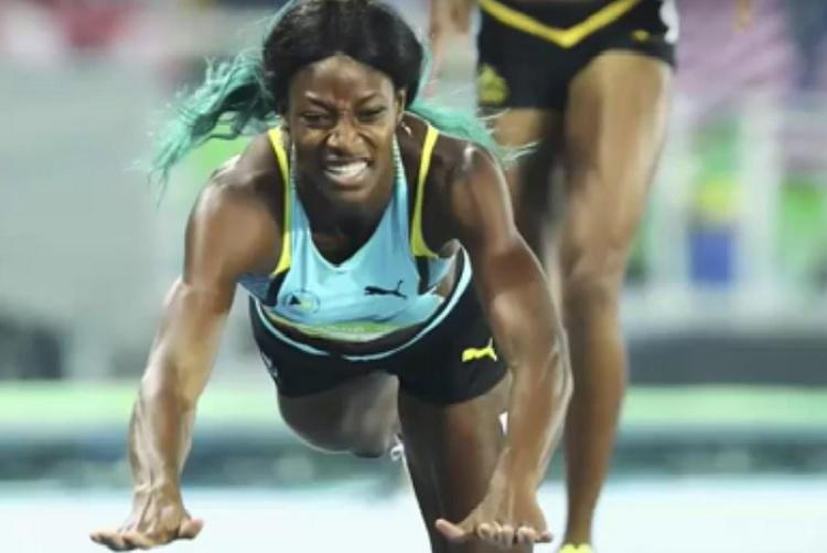 Watch Bahamas Miller dives over finish line to win 400m Olympic gold