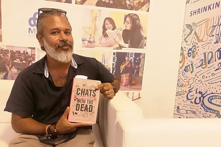 Shehan Karunatilakas new book is a murder mystery set around the Sri Lankan war