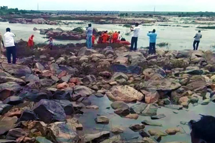 Stranded on an island for three days these shepherds had to be rescued by the NDRF