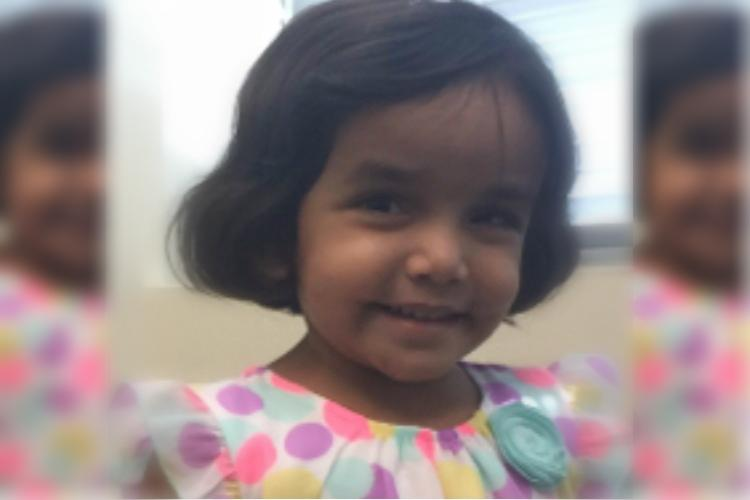 Indian-American child Sherin Mathews laid to rest burial location kept secret