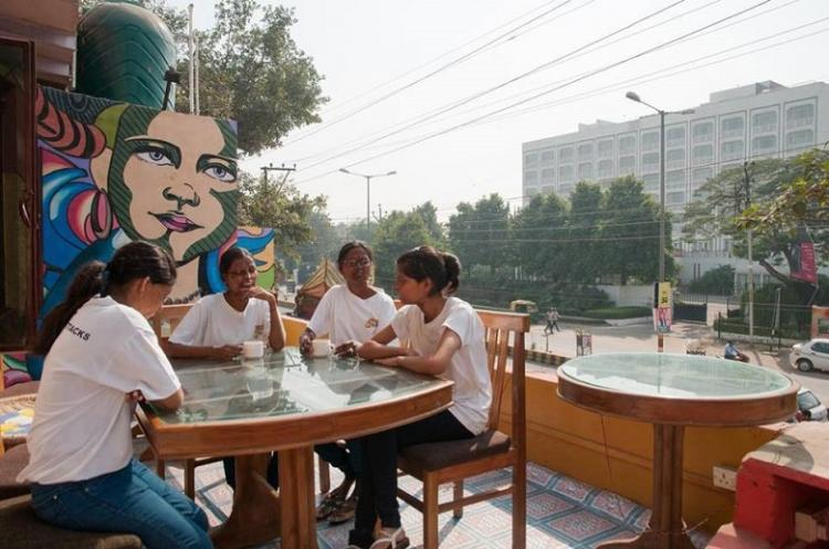 After Sheroes cafe now lounge and spa by acid attack survivors