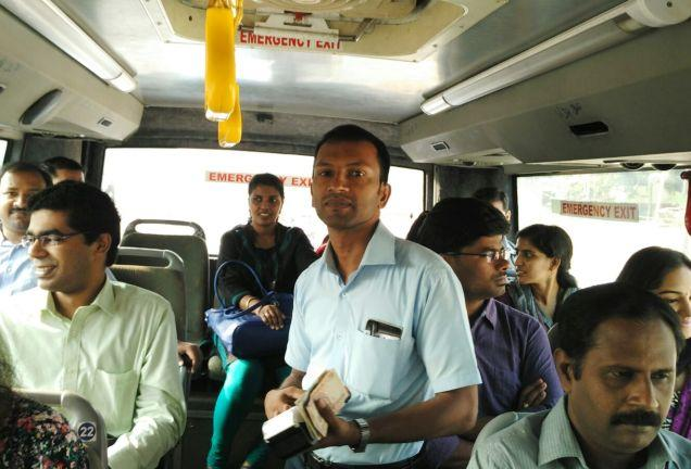 This cool Kerala bus conductor has a WhatsApp group to stay connected with passengers