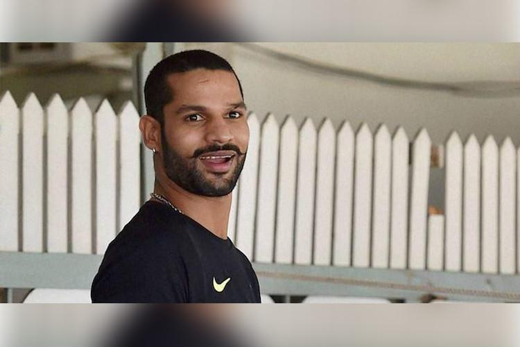 Dhawan to replace injured Vijay for Sri Lanka