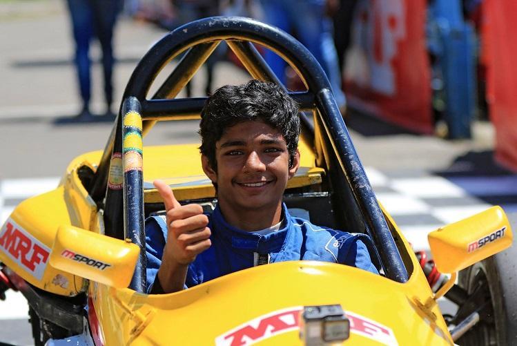 Bengaluru teen triumphs at National Racing Championship