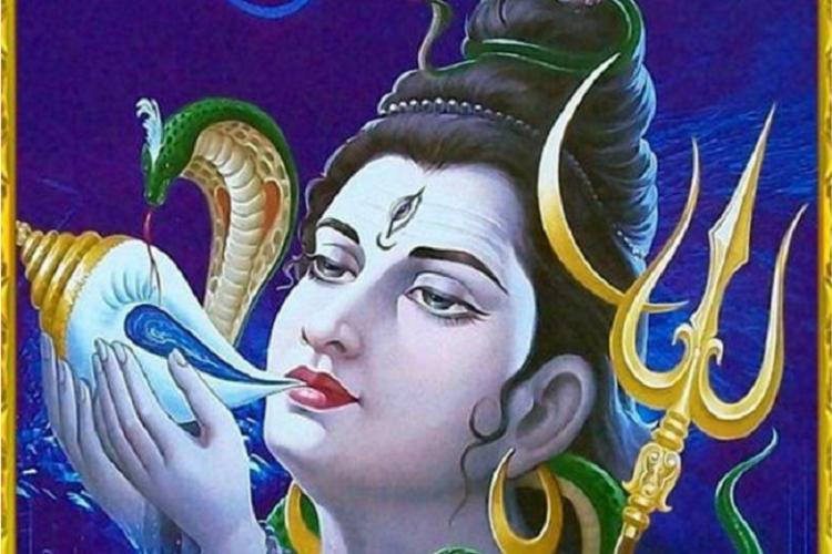 This year at Indian Science Congress Environmentalist Lord Shiva and Shankh-blowing for fitness