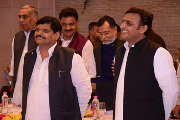 SP family war Shivpal meets Akhilesh Yadav in reconciliation bid