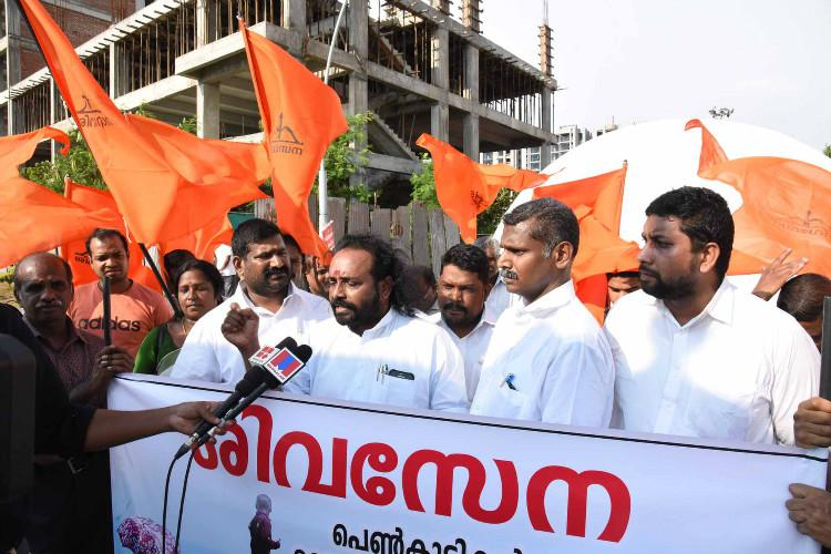 Shiv Sena leader who caned couples in Kochi was arrested in 2014 for sexual harassment