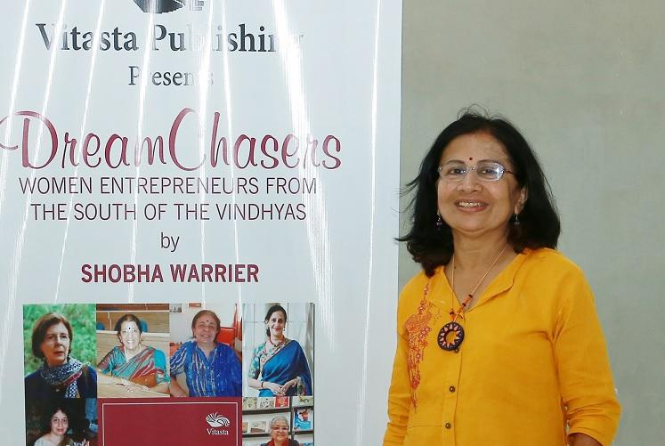 Their stories need to be told Shobha Warrier on her new book on women entrepreneurs
