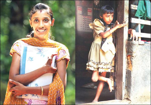 The face of Keralas endosulfan horror is today an icon of hope and survival