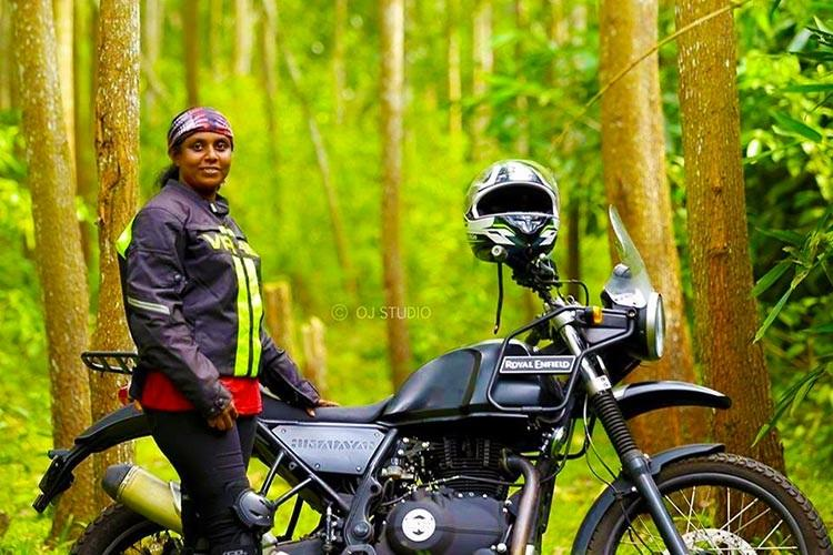 Stop violence against women Meet the biker who rode from Kanyakumari to Leh with an agenda