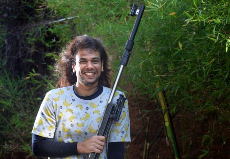 Shooting his way to records Sidhartha Babu Keralas best rifle master who has never had a coach