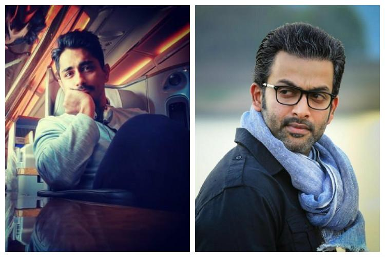 We need more stars like Prithviraj and Siddharth to speak up about violence against women