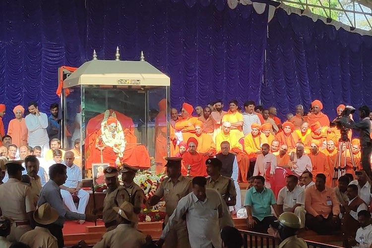 Congress targets PM Modi over his absence at Siddaganga seers funeral in Karnataka